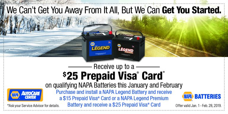car battery coupon